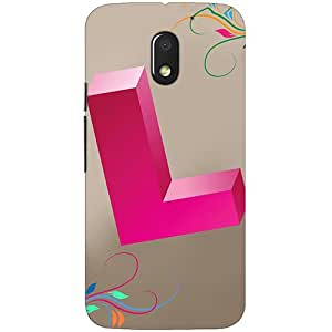 Clarks Printed Back Cover/Case For Motorola Moto E3