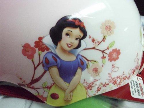 Snow White Bike Helmet