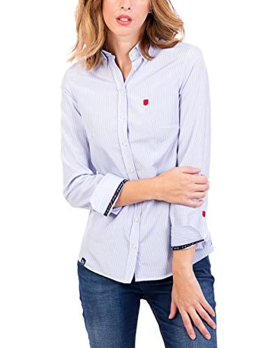 POLO CLUB Bluse klassisch Margot Academy