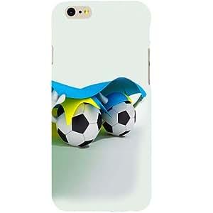 Casotec Soccer Design Hard Back Case Cover for Apple iPhone 6 / 6S