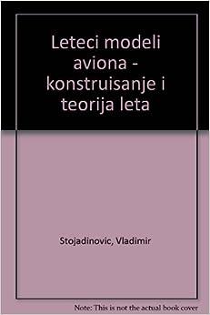 Leteci modeli aviona - konstruisanje i teorija leta: Vladimir