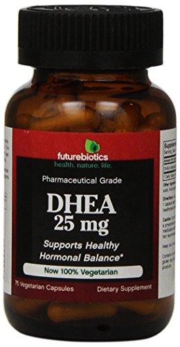 Futurebiotics Dhea 25 Mg Capsule, 75-Count