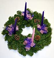 Advent Wreath by Wilson Evergreens