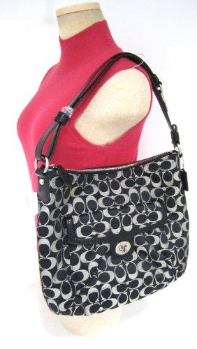Coach  Coach Penelope Signature Sateen Convertible Shoulder Handbag