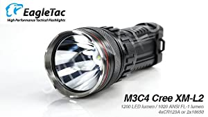 EagleTac M3C4 Cree XM-L LED Flashlight