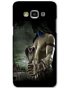 MobileGabbar Samsung Galaxy A3 Back Cover Plastic Hard Case