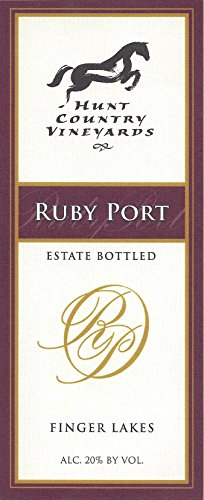 Nv Hunt Country Vineyards Ruby Port Finger Lakes Estate Bottled 500Ml