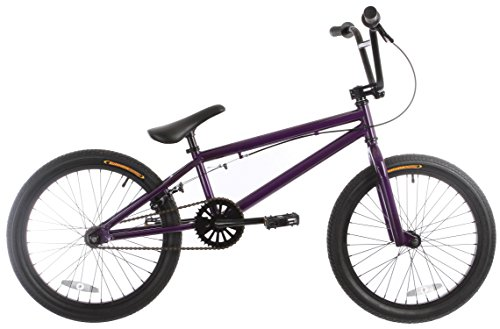 Lowest Prices! Framed Forge Blank BMX Bike Purple 20″