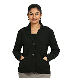 Fbbic Women's Coat (16148_Medium_Black)
