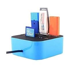 NewveZ 3 Port USB-HUB Combo Card Reader