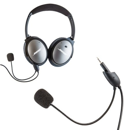 Headset Buddy: ClearMic Noise-Cancelling Microphone for Bose QC25 Headphones (CM3503)