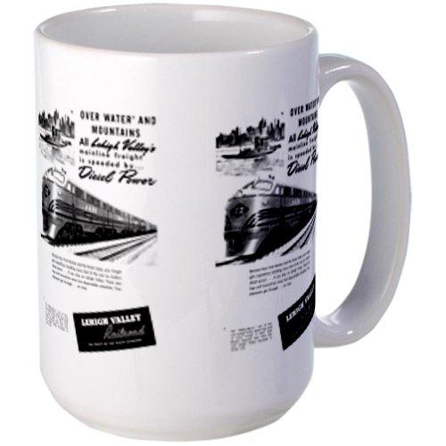 Cafepress Lehigh Valley Railroad Large Mug Large Mug - Standard Multi-Color