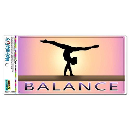 Magnet Handstand on Balance Beam