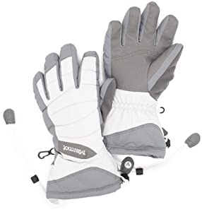 Marmot Women's Moraine Glove, Glacier Grey, Medium