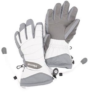 Marmot Women's Moraine Glove, Glacier Grey, X-Small