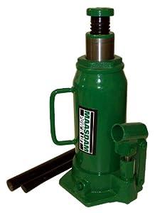 Maasdam MPL12B Bottle Jack , 12 Ton, Green