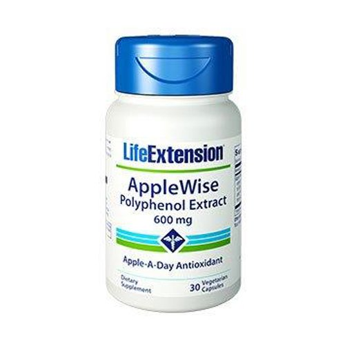 Life Extension Applewise Polyphenol Extract 600 Mg Vegetarian Caps, 30 Count (Apple Polyphenol Extract compare prices)