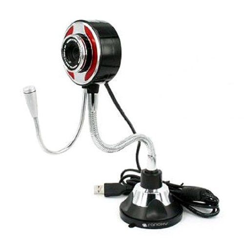 Sanoxy® 5.0 Megapixel Flexible Usb Pc Camera Webcam W/Microphone