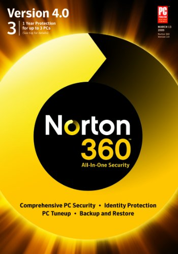 Norton 360 Version 4.0 1 User/3 PC [DOWNLOAD]