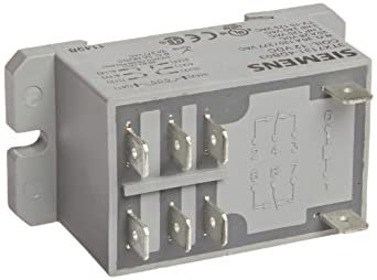 Basic Plug In Enclosed Power Relay, DPST-NO Contacts, 30A ...
