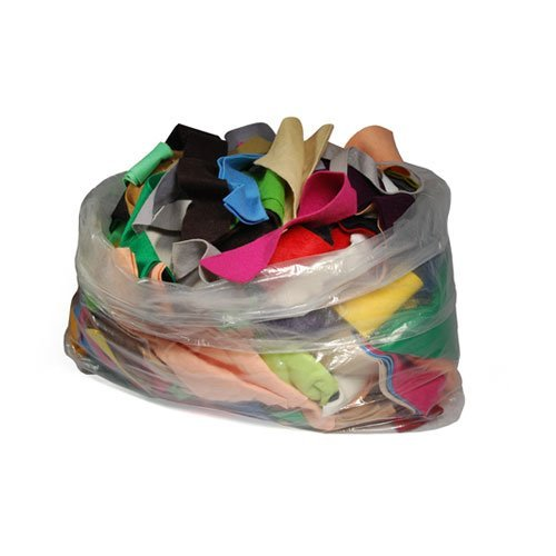 5 LBS of Assorted Fabric Bag of Remnant Craft, Exclusively By La Linen.