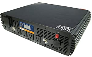 Sunforce 11260 2500 Watt Pure Sine Wave Inverter by Sunforce