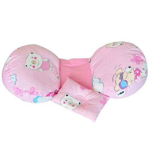 Leyun Cotton Pregnant Women Pillow (Pink Piggy) front-327606