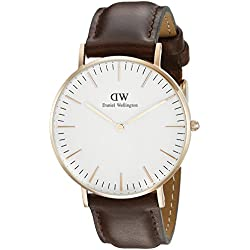 Daniel Wellington 0511DW Classic Bristol Analog Display Quartz Women's Watch (Brown)