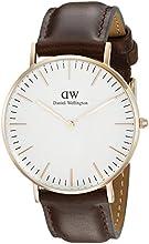 Comprar Daniel Wellington 0511DW - Reloj con correa de acero para mujer, color blanco / gris