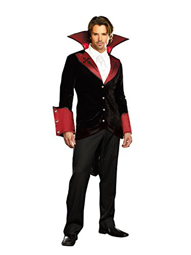 Dreamgirl-Mens-Just-One-Bite-Vampire-Costume-Set-with-Pants