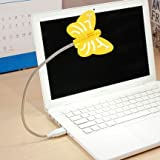 Renata LED Flyte USB - Cool White Light - Yellow