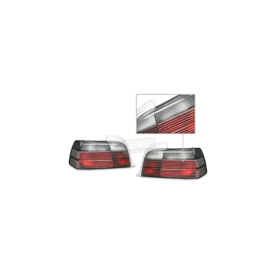 Bmw E36 3 series Coupe 1992 1998 Smoke Inner Red Ece Tail Lights