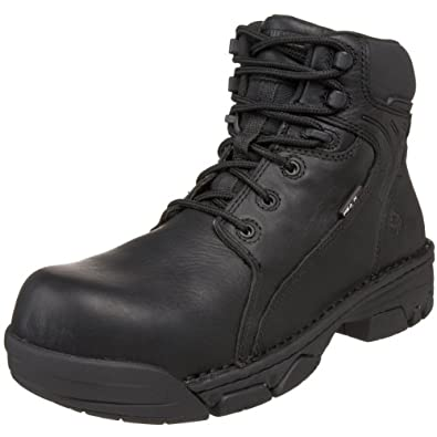 Wolverine Men's Falcon Composite Safety Toe Boot,Black,7 M US