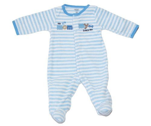 Carter's Baby Boys One-piece Terry Footed Easy