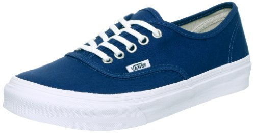 Vans Unisex Authentic Slim Dark Denim/True White Skate Shoe