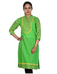 Rajrang Women Kurta Top Cotton Long Kurti - B00U25TG0I