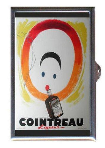 cointreau-triple-sec-liqueur-guitar-pick-or-pill-box-usa-made