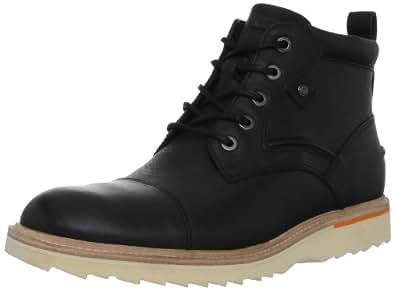Rockport Men's Union Street Cap-Toe Boot, Black, 7 M US