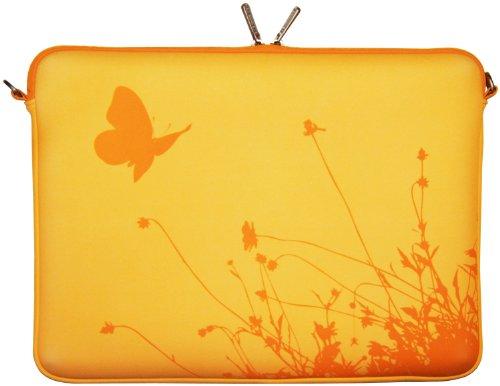 Digittrade LS114-15 Summer Notebook Sleeve Laptop neopren case custodia portatile borsa involucro protettivo 39,6cm (15,4 - 15,6 pollice) giallo
