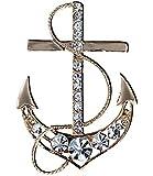 Ijewellery Fashion Women Brooch & Scarf Ring Jewellery Valentine's Day Gift