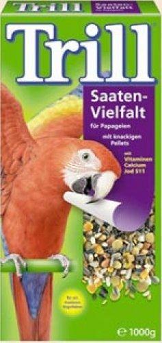 Trill - Saaten-Vielfalt für Papageien, 8 x 1
