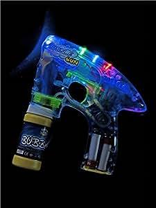 Smiffy's - Seifenblasenpistole Pistole Elektrisch Seifenblasen Seifen Blasen leuc