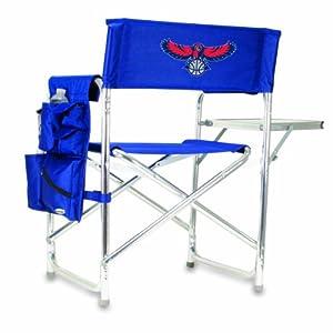 NBA Atlanta Hawks Portable Folding Sports Chair, Navy by Picnic Time