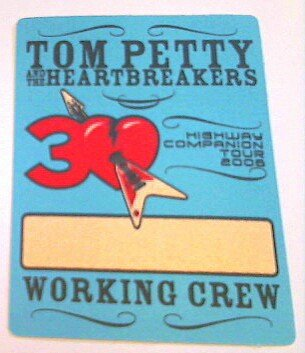 2006 Tom Petty & the Heart Breakers Backstage Pass Crew ...