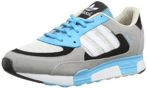 adidas Zx 850, Sneaker uomo Grigio Aluminum / Running White Ftw / Samba Blue S 14 40.6666666667