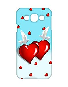 Mobifry Back case cover for Samsung Galaxy E5 SM-E500F Mobile ( Printed design)