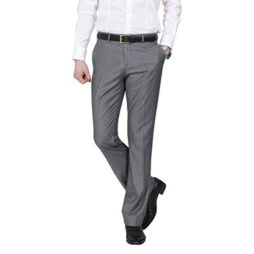 JEJEhomme Men's Slim Fit Dress Casual Pants