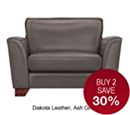 Urbino Loveseat - Leather