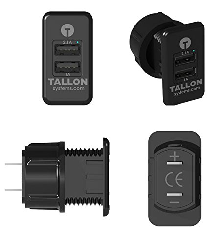 tallon-dual-usb-charger-socket-semi-truck-carling-switches-12-24v-input-puts-out-5v-10a-and-21a-simu