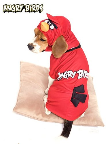 Red Angry Birds Costume for Pets